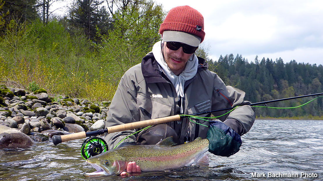 Fly fishing report april 24 2017 plan d fly boxes keep for Sandy river fishing report