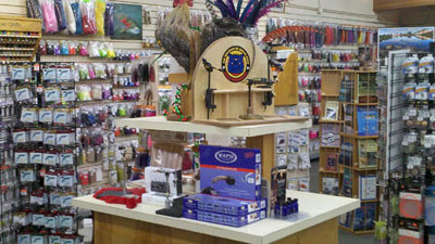 The Fly Fishing Shop's huge selection of fly tying material and tools